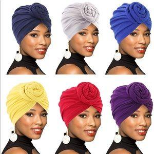 Pre-Tied Head Turbans / Head Wraps